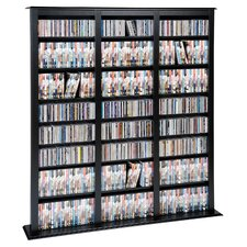 Barister Floor Media Storage Rack