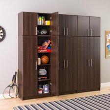 """Elite Espresso 32"""" Stackable Wall Cabinet"""