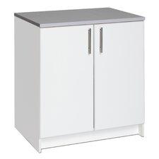 Elite Storage Garage/Laundry Room Floor Cabinet