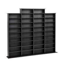 Quad Multimedia Storage Rack