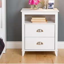 Yaletown 2 Drawer Nightstand