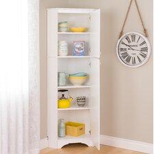 Elite 2-Door Corner Storage Cabinet
