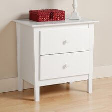 Berkshire 2 Drawer Nightstand