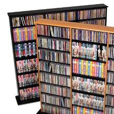 Triple Width Multimedia Storage Rack