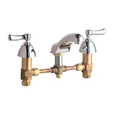 Widespread Bathroom Sink Faucet with Double Lever Handles