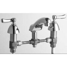 Concealed Widespread Bathroom Sink Faucet with Double Lever Handles