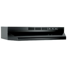 "40000 Series 30"" Ductless Under Cabinet Range Hood"