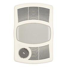 100 CFM Exhaust Bathroom Fan with Heater