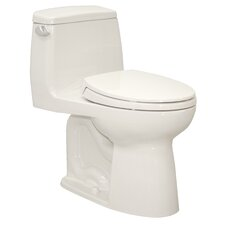Ultramax ADA Compliant Low Consumption 1.6 GPF Elongated 1 Piece Toilet
