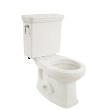 Promenade Eco 1.28 GPF Round 2 Piece Toilet with SanaGloss Glaze