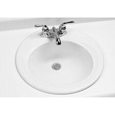 "19.5"" Self Rimming Bathroom Sink"