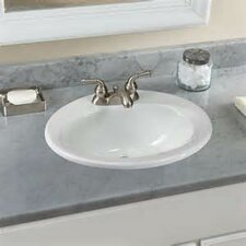 "20.38"" Self Rimming Bathroom Sink"