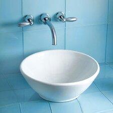 Larissa Vessel Bathroom Sink with SanaGloss Glazing
