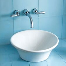Alexis Vessel Bathroom Sink with SanaGloss Glazing