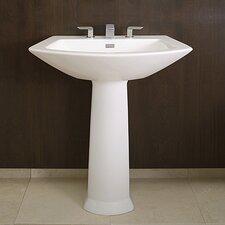 Soiree Pedestal Bathroom Sink Set