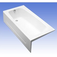 "Compliant 66"" x 32""  Soaking Bathtub"
