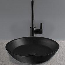Waza Noir Cast Iron Vessel Bathroom Sink
