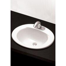 "20"" Self Rimming Bathroom Sink"