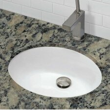 Classic Undermount Bathroom Sink with Overflow