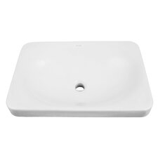 Classically Redefined Semi Recessed Drop-In Lavatory Sink