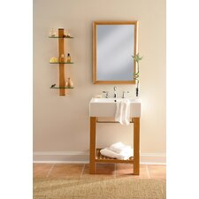 "24"" Single Wall Mounted Bathroom Vanity Set"