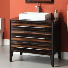 """Mila 37"""" Single Bathroom Vanity Set"""