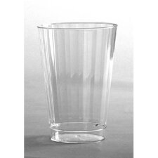 12 oz Classicware Tall Crystal Plastic Tumbler in Clear