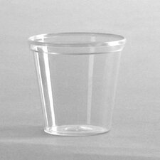 Comet Portion / Shot Glass in Clear