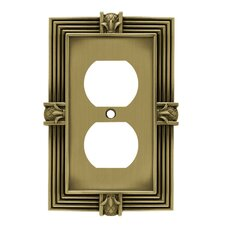 Pineapple Single Duplex Wall Plate