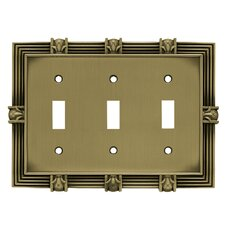 Pineapple Triple Switch Wall Plate