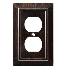 Classic Architecture 1 Gang Duplex Wall Plate