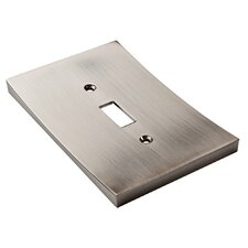 Concave Single Switch Wall Plate