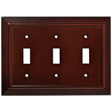 Classic Architecture Triple Switch Wall Plate