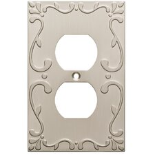 Classic Lace 1 Gang Duplex Wall Plate