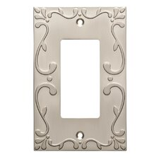 Classic Lace Single Decorator Wall Plate