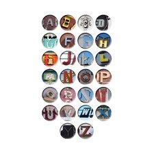 A-Z Coaster (Set of 26)