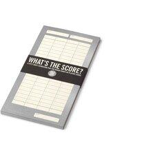 Scorecard Pad
