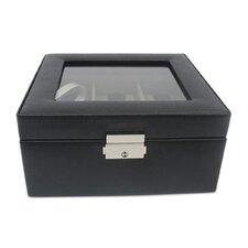 "David 6"" Leather Watch Box"