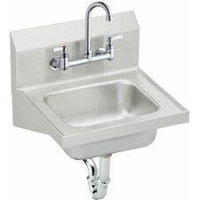 "15.5"" x 16.75"" Single Weldbilt Hand Sink"