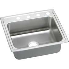 "Gourmet 25"" x 21.25"" Lustertone Kitchen Sink"