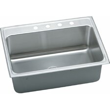 "Gourmet 31"" x 22"" Top Mount Kitchen Sink"