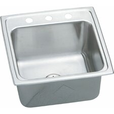 "Gourmet 19.5"" x 19"" Kitchen Sink with Perfect Drain"