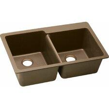 "Quartz Classic 33"" x 22"" Kitchen Sink"