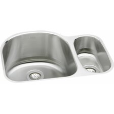 """Harmony 26.75"""" x 20"""" Kitchen Sink with Bottom Grid and Drain Assembly"""