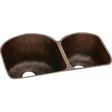 Harmony Double Bowl Undermount Kitchen Sink