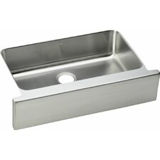"Lustertone 33"" x 20.5"" Undermount Single Bowl Kitchen Sink"