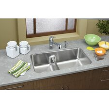 "Gourmet 32.06"" x 18.5"" Kitchen Sink"