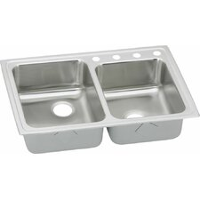 "Gourmet 31"" x 22"" Kitchen Sink with Perfect Drain"
