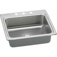 "Gourmet 25"" x 22"" Kitchen Sink with Perfect Drain"