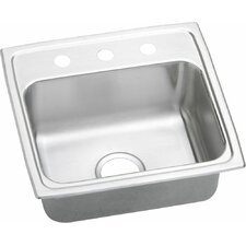 "Gourmet 19.5"" x 19"" Lustertone Kitchen Sink"